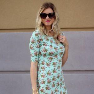 Major Unicorn Mint Floral Lularoe Julia Dress!! 😍